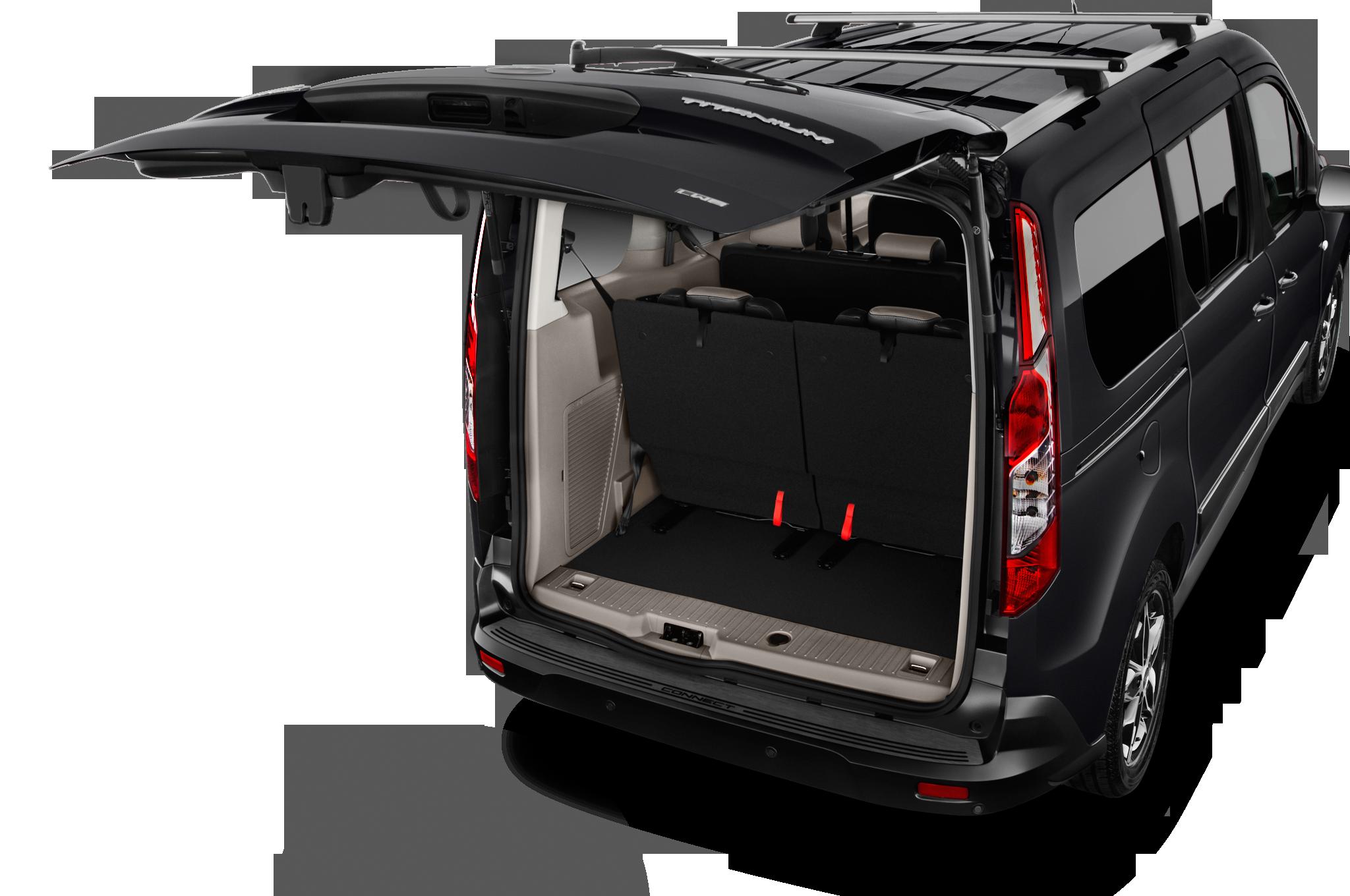 2017 Ford Transit Connect Titanium Mini Mpv Trunk Fort
